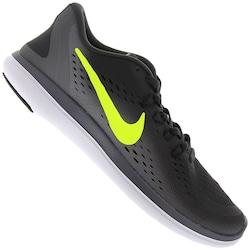 Tênis Nike Flex 2017 RN - Masculino - CINZA ESC/VERDE CLA
