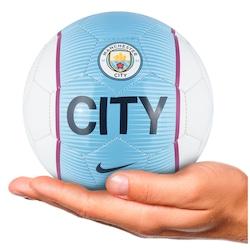 afcb304ef9e Minibola De Futebol De Campo Manchester City Nike Skills - Branco azul Cla