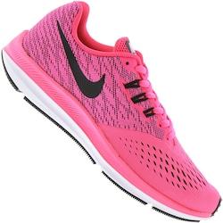 Tênis Nike Zoom Winflo 4 - Feminino - ROSA/PRETO