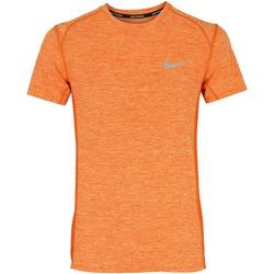 Camiseta Nike Breathe Miler Top - Masculina - LARANJA