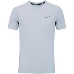 Camiseta Nike Breathe Miler Top - Masculina - CINZA CLARO