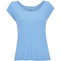 Camiseta Nike Breathe Running Top - Feminina - AZUL