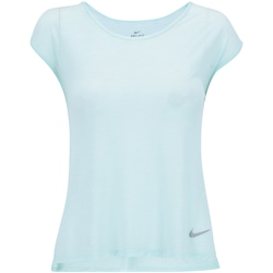 Camiseta Nike Breathe Running Top - Feminina - VERDE CLARO