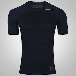 Camisa de Compressão Nike Pro Hypercool - Masculina - PRETO