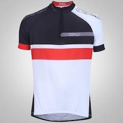 Camisa de Ciclismo Oxer Classic - Masculina - PRETO/BRANCO