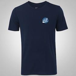Camiseta Nike Dry SB DF - Masculina - AZUL ESCURO