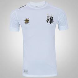 Camisa do Santos I 2017 Kappa - Torcedor - BRANCO