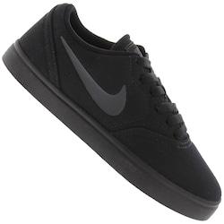 Tênis Nike SB Check Canvas BG - Infantil - PRETO/CINZA ESC
