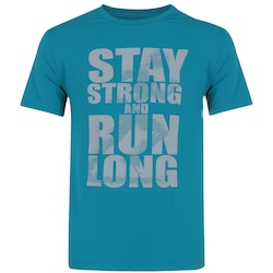 Camiseta Oxer Stay Strong - Masculina - AZUL
