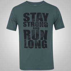 Camiseta Oxer Stay Strong - Masculina - CINZA ESCURO