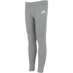 Calça Legging Nike Sportswear Tight Feminina - Infantil - CINZA ESCURO
