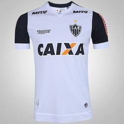 Camisa do Atlético-MG II 2017 Topper - Masculina - BRANCO/PRETO