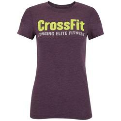 Camiseta Reebok CrossFit Graphic - Feminina - ROXO ESCURO