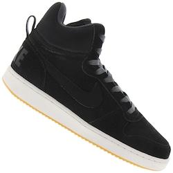 Tênis Nike Court Borough Mid Premium - Masculino - PRETO/CINZA ESC