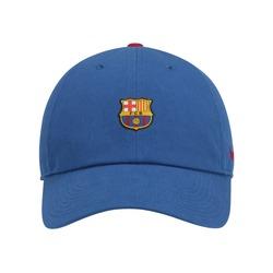 Boné Aba Curva Barcelona H86 Core Nike - Strapback - Adulto - Azul Esc/Vinho