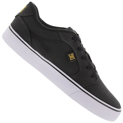 Tênis DC Shoes Anvil LA TX - Masculino - PRETO