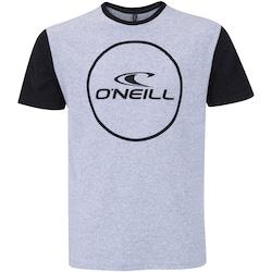 camiseta-oneill-corp-circle-masculina-cinza