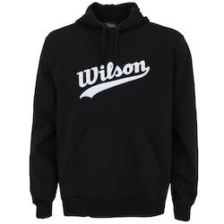 Blusão de Moletom com Capuz Wilson Graphic Hoodie - Masculino - PRETO
