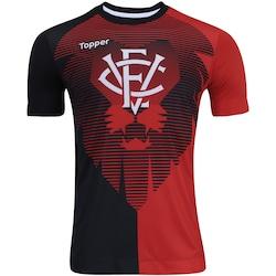 camisa-do-vitoria-aquecimento-2017-topper-masculina-vermelhopreto