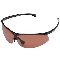 Óculos de Sol Oxer Zeus - Unissex - PRETO/LARANJA
