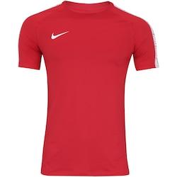 Camiseta Nike Breathe Squad - Masculina - VERMELHO