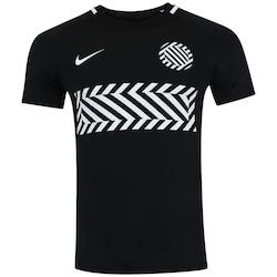 Camiseta Nike Dry Academy - Masculina - PRETO/BRANCO