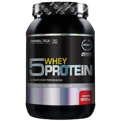 Whey Protein 5W Probiótica Ultimate Blend - Morango - 900g