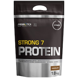Strong 7 Protein Probiótica - Chocolate - 1,8Kg