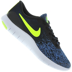 Tênis Nike Flex Contact - Infantil - PRETO/AZUL
