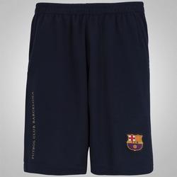 Calção Barcelona Barça - Masculino - AZUL ESCURO