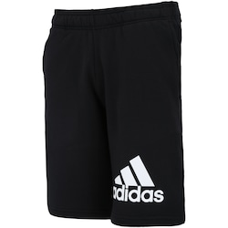 Bermuda de Moletom adidas Knit FT - Masculina - PRETO