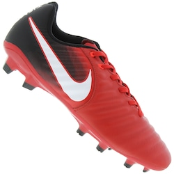 0eaf677d8c Chuteira De Campo Nike Tiempo Ligera Iv Fg - Adulto - Vermelho preto