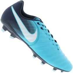 Chuteira De Campo Nike Tiempo Ligera Iv Fg - Adulto - Azul Cla azul Esc 91aeadfd5eaf9