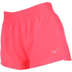 Shorts Mizuno City Run F 2 - Feminino - ROSA ESCURO