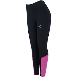Calça Legging Mizuno New Fit - Feminina - PRETO/ROSA
