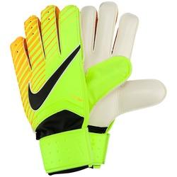 Luvas de Goleiro Nike Match - Adulto - Verde Cla/Laranja