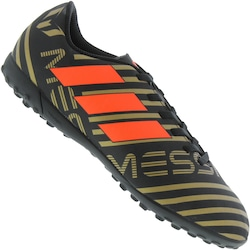 ff9ba260b2 Chuteira Society Adidas Nemeziz Messi 17.4 Tf - Infantil - Preto