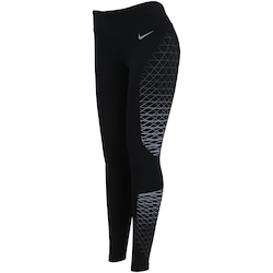Calça Legging Nike Power Tight Racer Fast - Feminina - PRETO