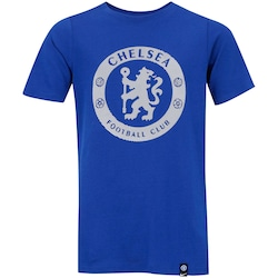 Camiseta Chelsea Crest Nike - Infantil - AZUL
