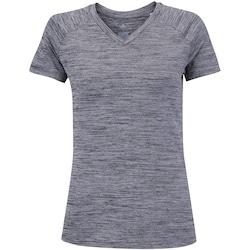 Camiseta adidas Freelift - Feminina - CINZA