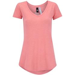 Camiseta adidas Winners - Feminina - Salmao