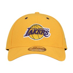 Boné New Era 9forty Los Angeles Lakers - Snapback - Adulto - Amarelo 3963b95d242