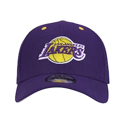 Boné New Era 9forty Los Angeles Lakers Hc - Snapback - Adulto - Roxo f8f8a694770
