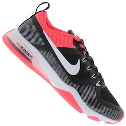 Tênis Nike Air Zoom Fitness - Feminino - Preto/Coral