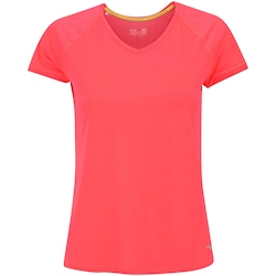 Camiseta Mizuno Active - Feminina - ROSA ESCURO