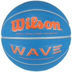 Bola de Basquete Wilson Wave Phenom 295 - AZUL/LARANJA