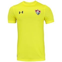 Camisa De Goleiro Do Fluminense 2017 Under Armour - Masculina -  Amarelo preto 22de74f71adcc