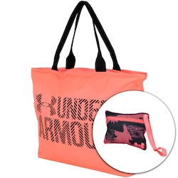Bolsa Under Armour Big Wordmar Tote 2.0 - 22 Litros - Coral preto f71d1bea5f81b