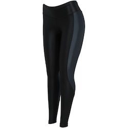 Calça Legging Oxer Advanced - Feminina - PRETO/CINZA ESC