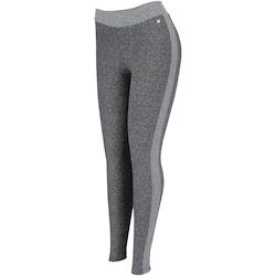 Calça Legging com Proteção Solar UV Oxer Energy II - Feminina - CINZA ESC/CINZA CLA